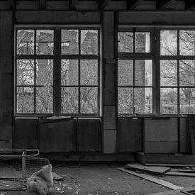 Urban Fabriek Zwart Wit van Anjo ten Kate