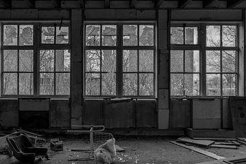 Urban Factory Schwarz Weiß von Anjo ten Kate