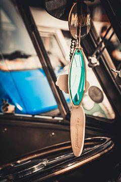 Vintage auto sleutelhanger van Niels Hemmeryckx