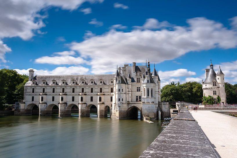 Romantisch kasteel in de loire streek van Frankrijk van Fotografiecor .nl