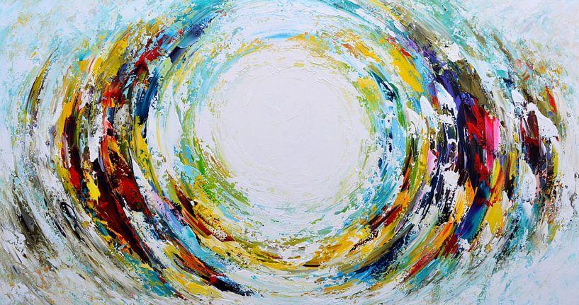 Abstract star van Gena Theheartofart