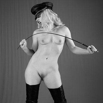 Sehr schöne sexy nackte Frau im Fetisch-Bdsm-Stil fotografiert #1101 von william langeveld