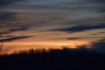 Zonsondergang van Freya Vanvolsem