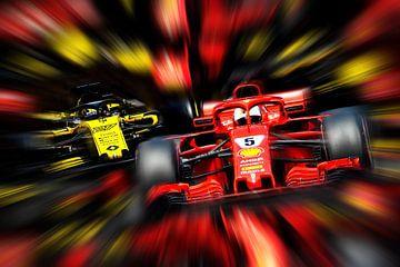Duits Doppelpack - Vettel en Hülkenberg van Jean-Louis Glineur alias DeVerviers