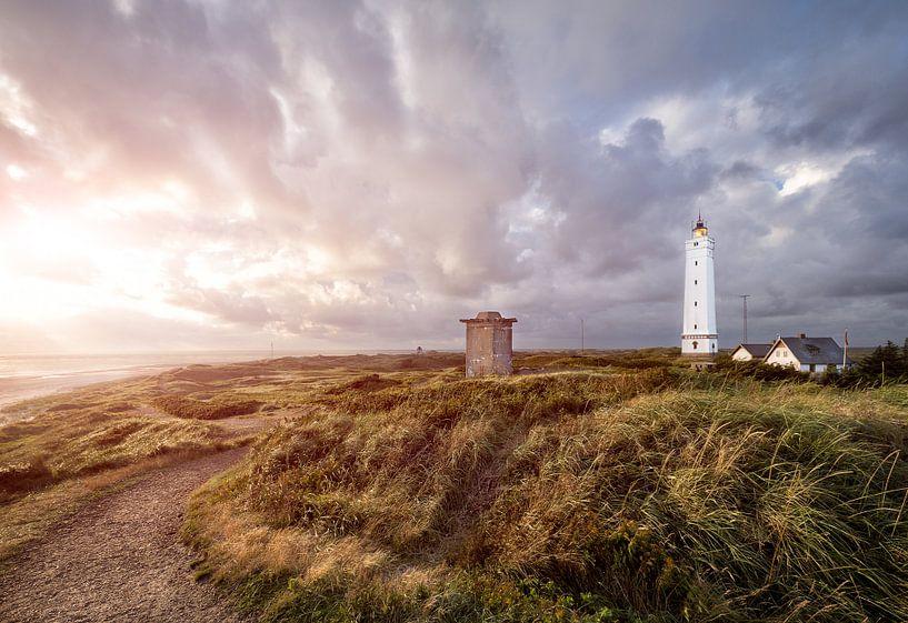 Lighthouse in Blavand, Denmark von Sander Sterk