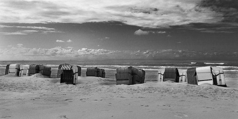 Strandstoelen van Johan Zwarthoed