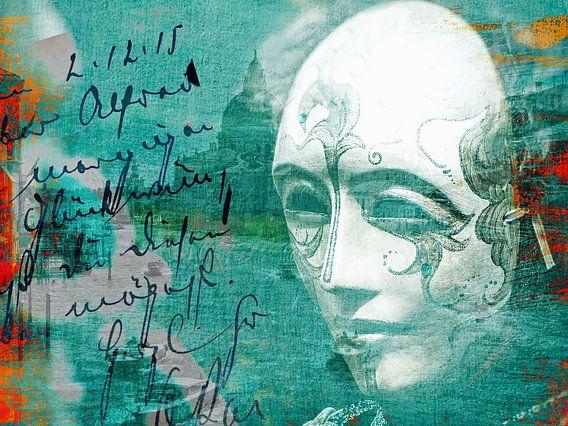 The white mask at Venice van Gabi Hampe