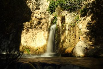 Waterfall Castril sur Cornelis (Cees) Cornelissen