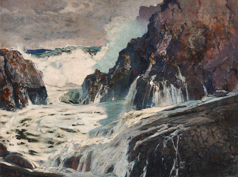 Frederick Judd Waugh~Nach dem Sturm von finemasterpiece