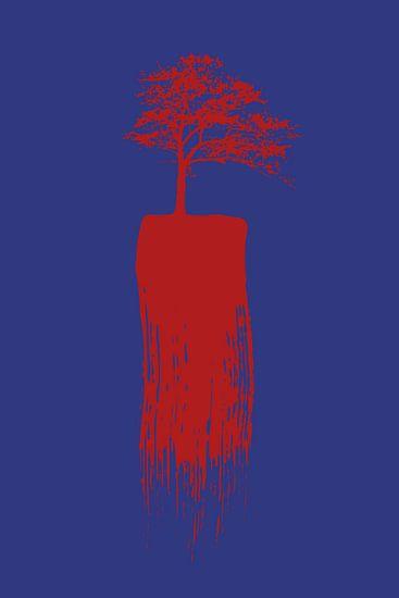 Lonely Tree van Harry Hadders