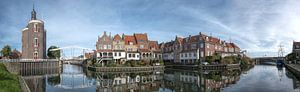 Old harbour of Enkhuizen van Anneke Reiss