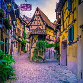 Eguisheim, Elzas Frankrijk van Dennis Donders