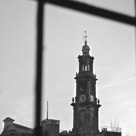 Amsterdam Westertoren Westerkerk sur Marianna Pobedimova