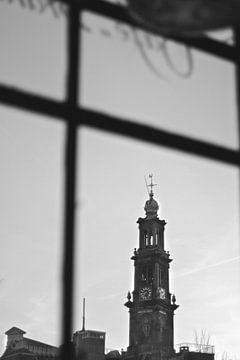 Amsterdam Westertoren Westerkerk von Marianna Pobedimova