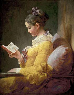 La lecture chez les jeunes filles - Jean-Honoré Fragonard sur Bridgeman Images