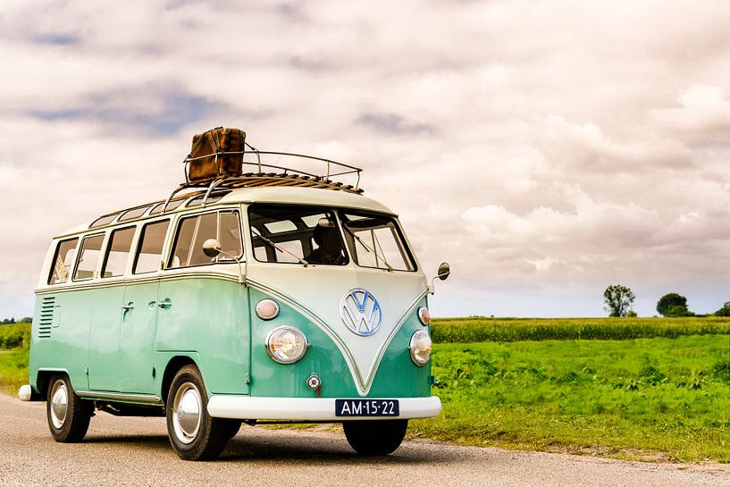 Volkswagen Transporter T1 split screen klassieke camper van Sjoerd van der Wal