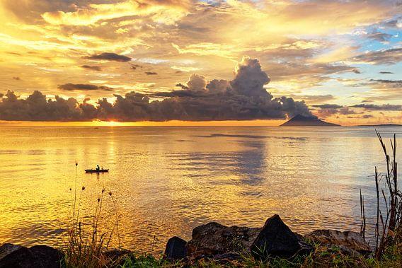 Sonnenuntergang in Sulawesi