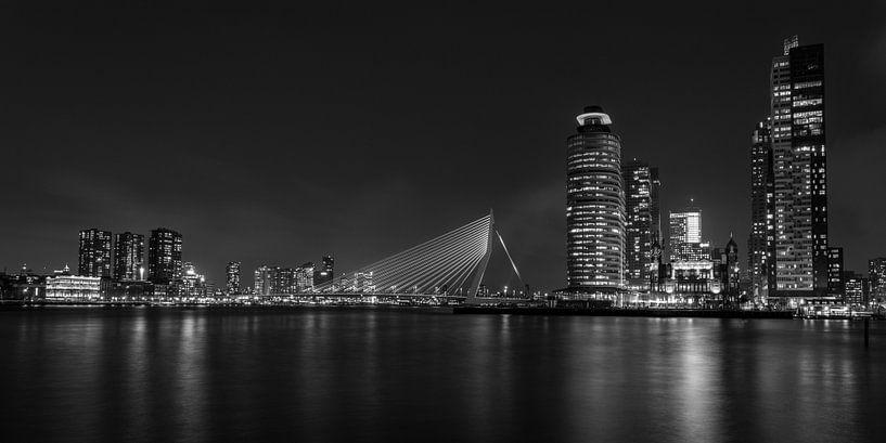 Rotterdam Panorama von Albert Mendelewski