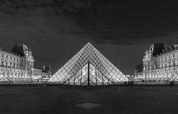 Das Louvre-Museum in Paris von MS Fotografie | Marc van der Stelt