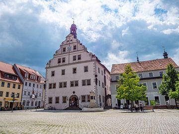 Stadhuis van Dippoldiswalde Osterzgebirge Saksen van Animaflora PicsStock