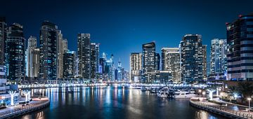 Dubai Marina Bay von Dennis Wierenga