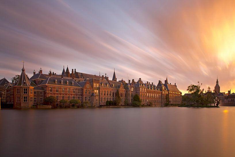 Binnenhof mysterieus te Den Haag van Anton de Zeeuw
