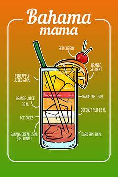 Cocktail Bahama Mama sur Amango