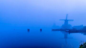 Où le brouillard sont les moulins à vent sur Rene Siebring