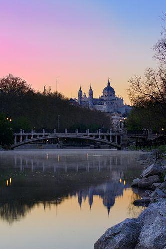 Vroege ochtend in Madrid van