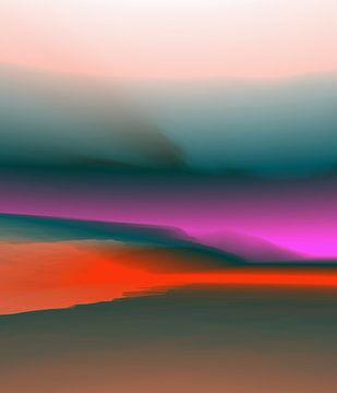 Mooie zonsondergang 6 van Angel Estevez