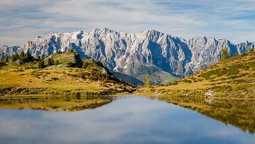 Bergsee mit Hochkönig von Coen Weesjes
