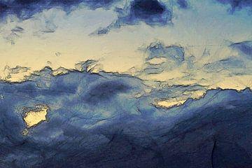 Abstrakt - Wettergeschichten - Ein letzter Atemzug von Schildersatelier van der Ven