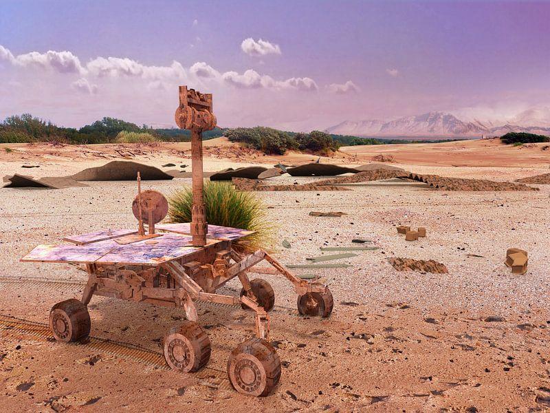 Marsrover Opportunity still going strong van Frans Blok
