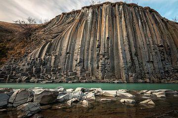 Die stattliche Basalttal Lagune von Gerry van Roosmalen