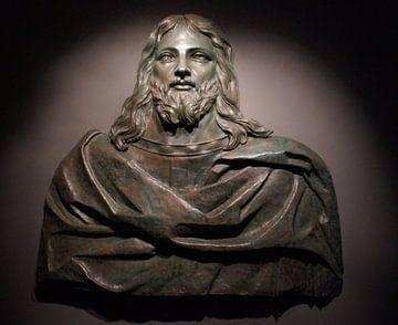 Jezus Christus / Jesus Christ, bronzen beeld, Museum Co Cathedral Valletta, Malta van Maurits Bredius