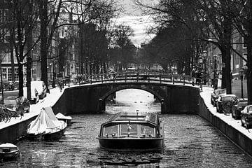 Winter rondvaart Amsterdam von Dennis van de Water
