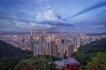 Victoria Peak, Hong Kong von Sander Sterk