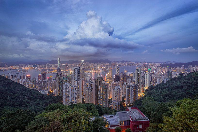 Victoria Peak, Hong Kong van Sander Sterk