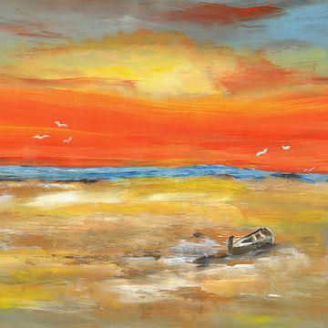 Liebe mich im Fischerboot van Katarina Niksic