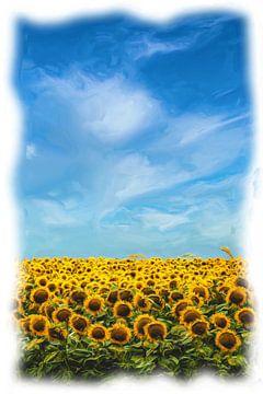 Sonnenblumen von Maurice Dawson