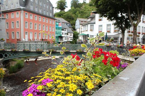 Bloemen in Monschau van