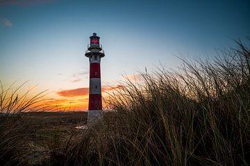 Leuchtturm Nieuwpoort von Peter Deschepper