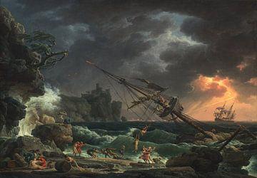 The Shipwreck, Claude-Joseph Vernet sur