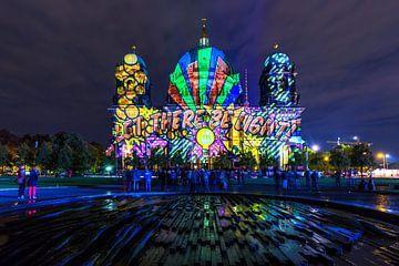 Berlijnse Dom in een bijzonder licht