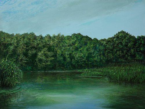 wood lake van Silvian Sternhagel