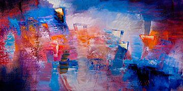 Hier en nu - heldere kleuren en vormen