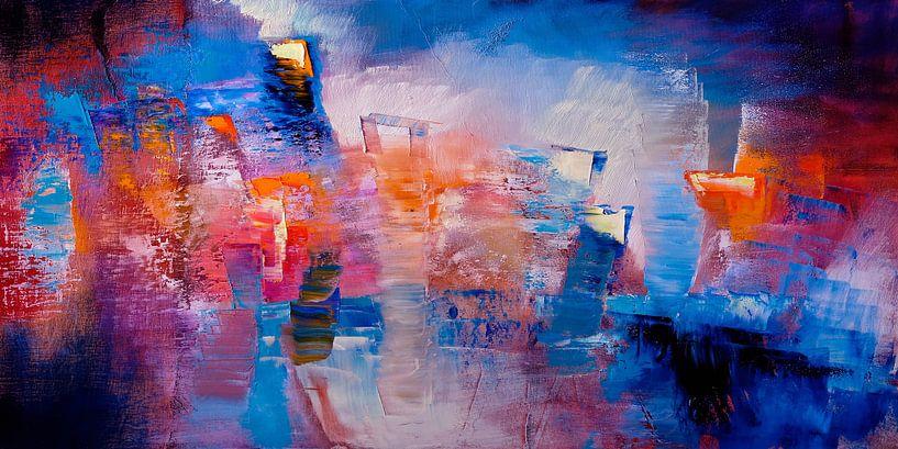Hier und jetzt - leuchtende Farben und Formen von Annette Schmucker