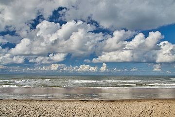 Strand Texel van Ad Jekel