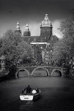 Dunkle Wolken von Iconic Amsterdam