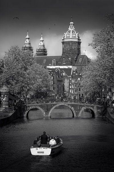 Donkere wolken van Iconic Amsterdam